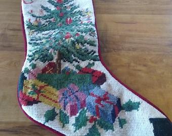Needlepoint Stocking