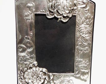 Ornate Sterling Silver Picture Frame,