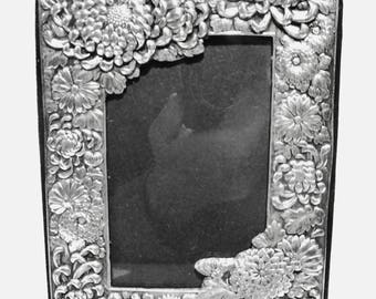 Ornate Sterling Silver Picture Frame