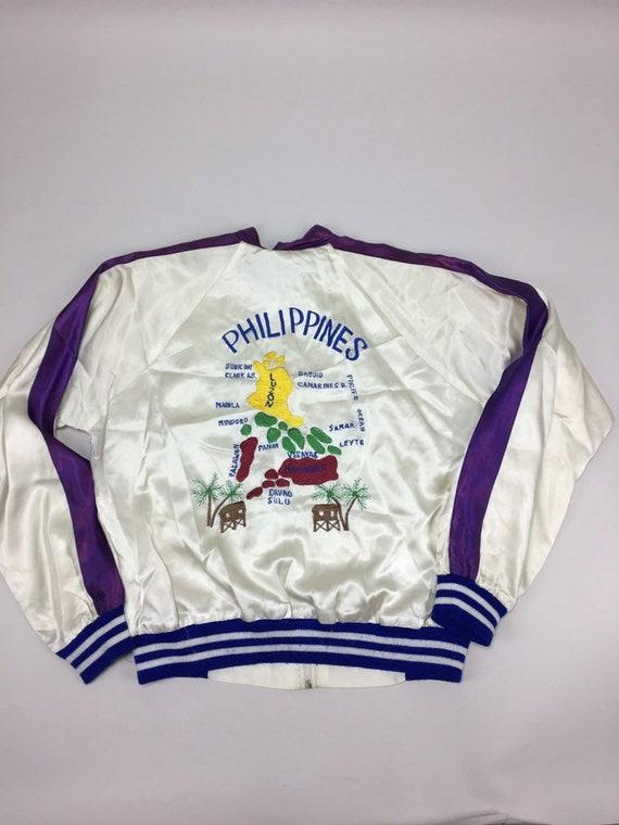 Vintage Philippines Souvenir Jacket