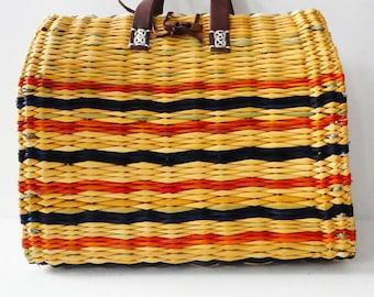 "Traditional Portuguese basket reeds - Mini - Capsule ""Bahía"""