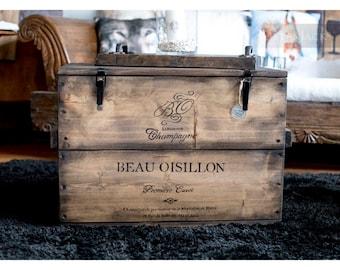 "Crate Box cargo Box Chest table ""bo"""