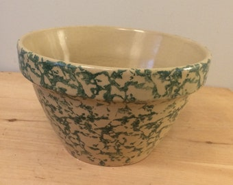 Friendship Pottery Roseville Ohio 2 Qt 8 Inch Mixing Bowl Etsy
