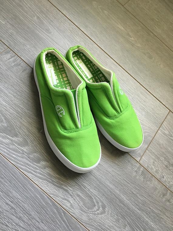Womens Vintage Champion slip-on shoes