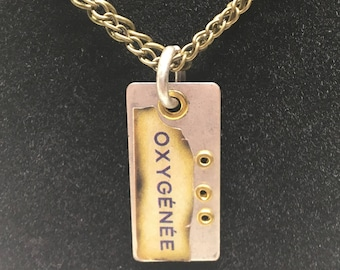 Metal Pendant Necklace // Gifts for Her // Holiday Present