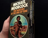 Michael Moorcock - The Dancers At The End of Time Trilogy - Mayflower Box Set - 1978 - Vintage Scifi Fantasy Paperbacks