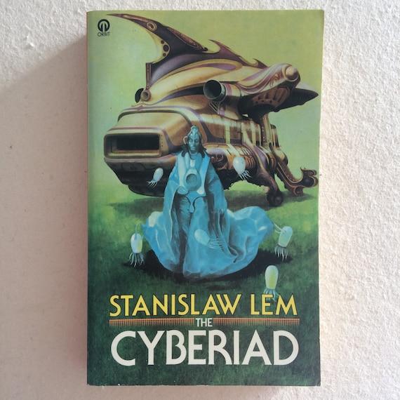Stanislaw Lem Cyberiad Orbit Paperback 1977 Cover Art Etsy