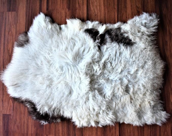 Original Natural White Brown Genuine Sheepskin Rugs Natural Rug Throw Rugs Carpet Outdoor Rugs Cheap Rugs Shag Rug Fur Rug