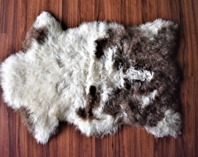 ON SALE Creamy Brown Genuine Sheepskin Rug   Nursery Decor   Original Sheepskin   Sheepskin Rug   Real Sheepskin   Sheepskin Rug