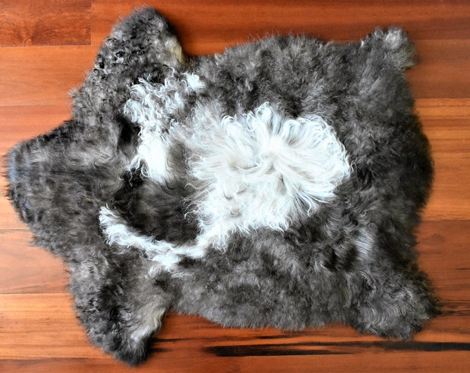 Brown Sheepskin Rug, Throw Genuine Sheepskin Rugs Sheep Skin Cheap Rugs, Discount Rugs, Shaggy Rug, Scandinavian Style