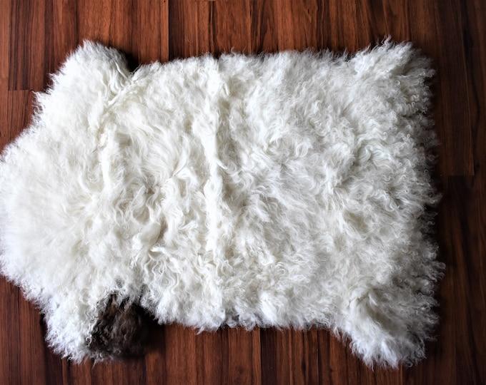 Original Natural White Brown Genuine Sheepskin Rug Throw Rugs Carpet Outdoor Rugs Cheap Rugs Shag