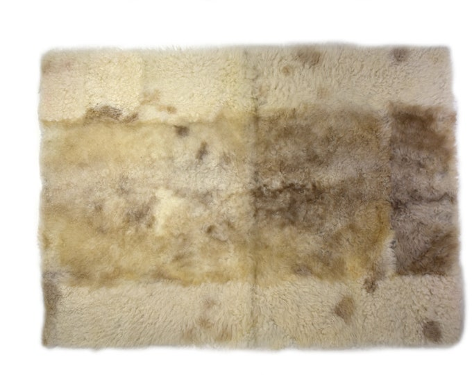 Sheepskin Pelt, Pet Furniture, Rectangle Sheepskin Rugs, Cat Play Mat, Large Dog Bed, Dog Place Mat, Cat Bedding