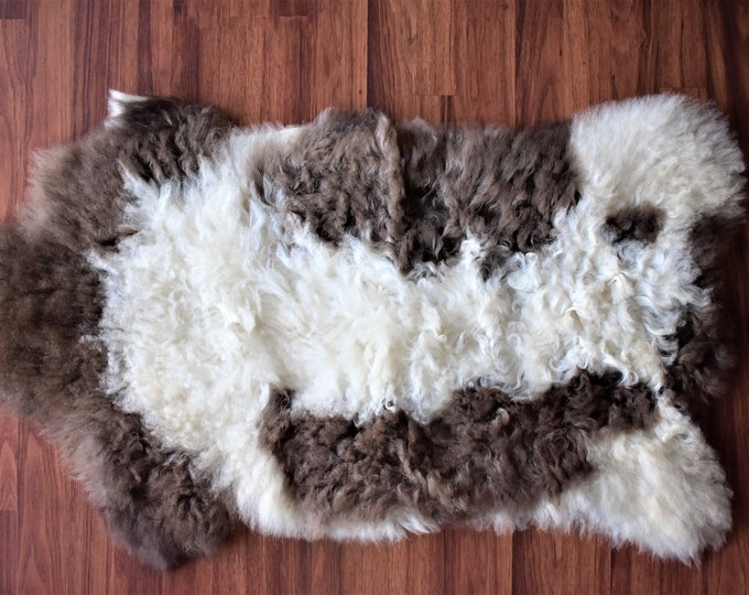 Original Natural Rug White Brown Genuine Sheepskin Rugs Natural Sheepskin Rug Throw Rugs Carpet Outdoor Rugs Cheap Rugs Shag