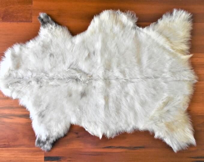 Real Icelandic Genuine Sheepskin Rug Cream Fur
