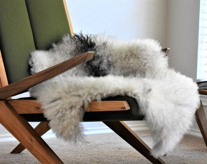 ANY 2 Sheepskin Rugs From My Shop, Choose Any 2 Sheepskin Pelts REGARDLESS of PRICE, Highest Quality Swedish Farmhouse Sheepskin Throws