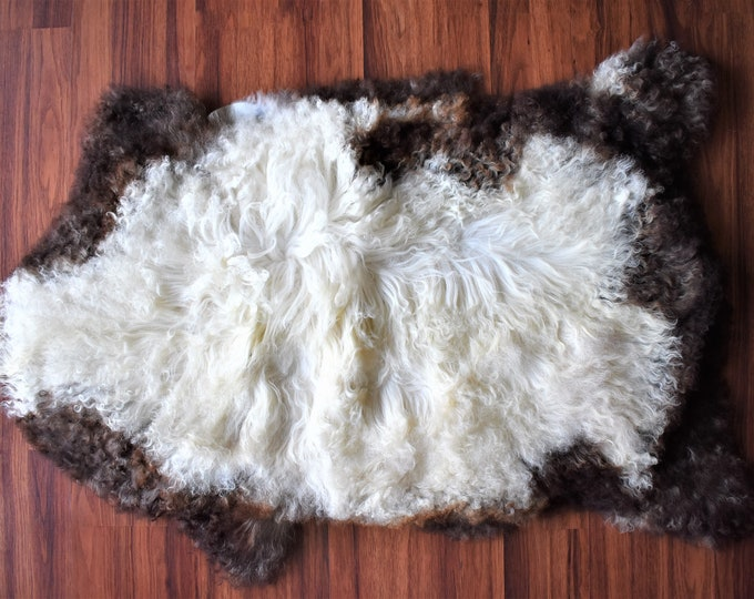 Original Natural White Brown Genuine Sheepskin Rugs Throw Rugs Carpet Outdoor Rugs Cheap Rugs Shag