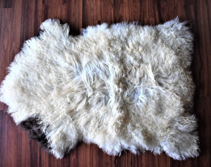 Original Natural White Brown Genuine Sheepskin Rugs Throw Rugs Carpet Outdoor Rugs Cheap Rugs Shag