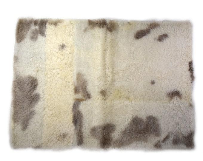 Sheepskin Pelt, Pet Furniture, Sustainable Zero Waste Large Dog Bed, Pet Christmas Gift, Dog Place Mat, Cat Play Mat, Sheepskin Rugs