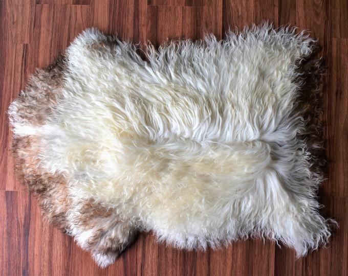Original Natural Rug Beige Brown Genuine Sheepskin Rugs Natural Rug Throw Rugs Carpet Outdoor Rugs Cheap Rugs Shag Sheepskin rug