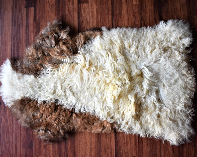 Original, Natural Rug Brown Genuine Natural Sheepskin Rugs Genuine Sheepskin Rugs Throw Rugs Carpet Outdoor Rugs Cheap Rugs Shag
