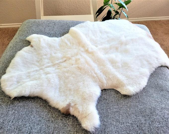 Sheepskin Rug, Rug, Sheepskin, Gift, Rugs, Sheep Skin, Leather, Area Rugs, Cheap Rugs, Fur Rug, Natural, Icelandic Sheepskin, 23 x 34 in.
