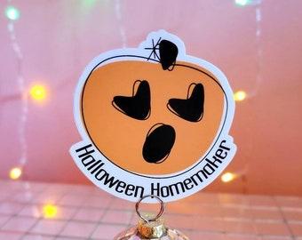 Halloween Homemaker Logo Sticker