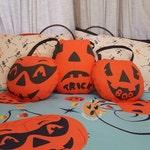 Pumpkin Pail Pillow
