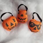 Plush blow mold pail ornaments