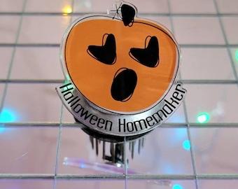 Halloween Homemaker Pin