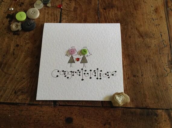 Gay Women Marriage Card Gay Marriage Gay Women Congratulations Gay Wedding Card Mrs Gay Marriage Gay Wedding Gay Congratulations