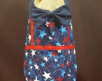 Patriotic Vest with Bow Tie
