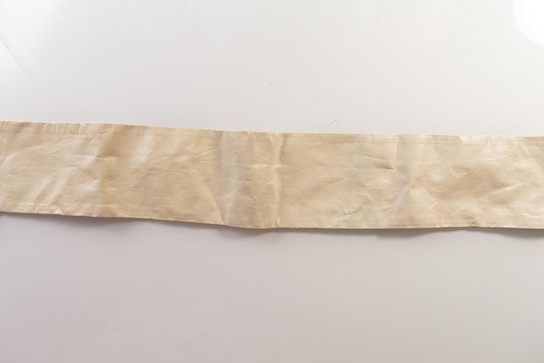 Vintage Waist Belt Small Size Women/'s Thin Leather Dolly Parton Style Belt