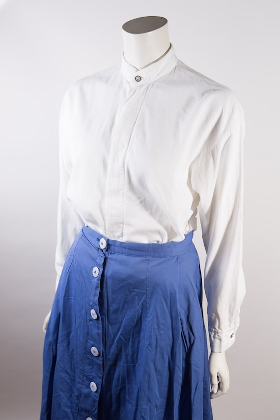 Vintage Christian Dior Shirt - Women's large Butto