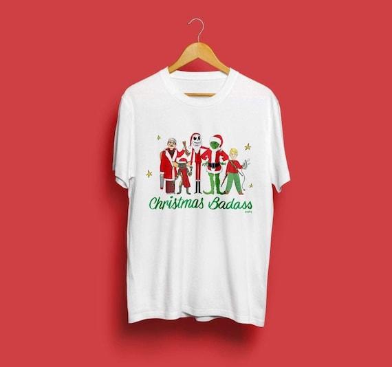 Cool the santa clause Movie Poster Fashion Unisexe Blanc T-Shirt Cadeau Idéal