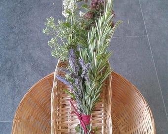 Rosemary & oregano wedding favours, posies, bunches