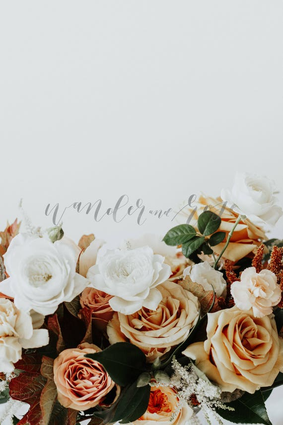 Wedding Mockup Styled Stock Floral Photo Image With Blank Space And Flowers For Blogs Websites And Instagram