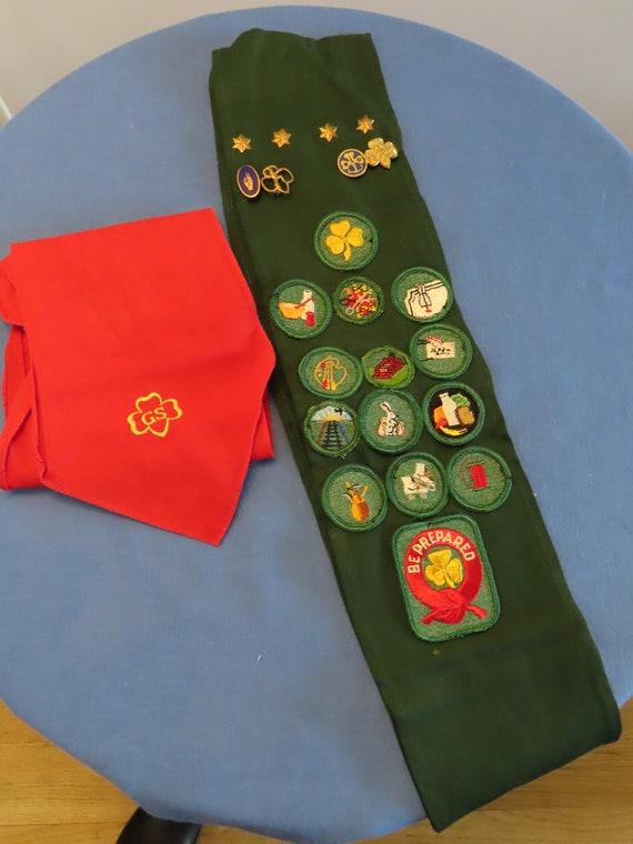 6 Girl Scout Badges Vintage 60/'s