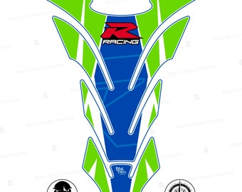 Adhesive protection cap for resinated tank compatible with Suzuki GSX R 600 650 750 1000 1250 1300 GSXR