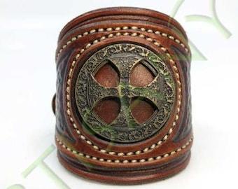 Khal Drogo_ The Proud of Hache leather bracelet