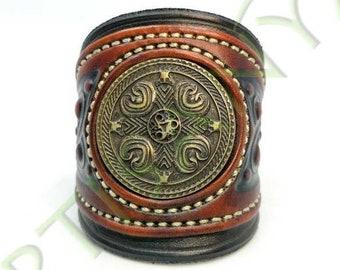 Khal Drogo_The North leather bracelet