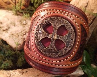 Khal Drogo_Fer leather bracelet