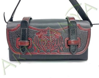 Steam Leather Bag Wolf of the Underworld