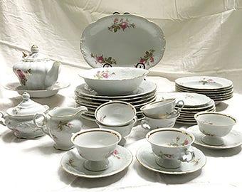 Wawel Fine China Antique Porcelain 40 Pc. Set