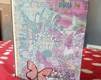 Personalized Notebook or Recipe book