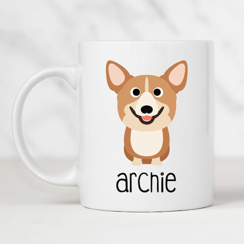 Gift for cardigan pembroke welsh corgi owners /& lovers gifts! Corgi Dog Dad Mug
