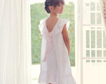 Girls Nightgowns . Girls Pajamas . Sophisticated Sleepwear . Girls Sleepwear  . Girls Cotton Nightgowns . Luxurious Sleepwear be9928685