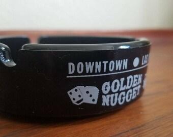 Vintage Golden Nugget Las Vegas Ashtray