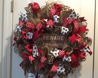 Pet Lovers, Dog Lovers Wreath