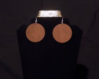 100% Natural Afraka earrings