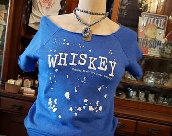In Stock. WHISKEY Country Legend Short Sleeve Sweatshirt
